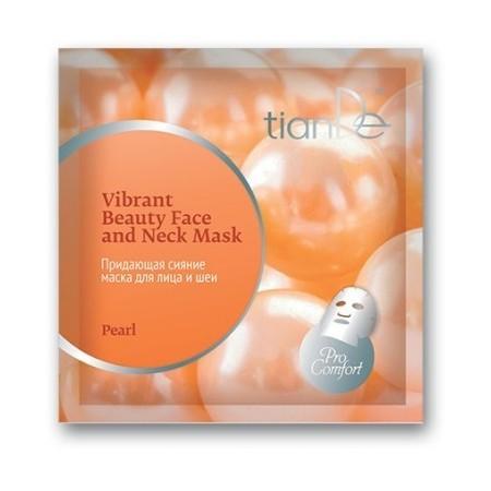 Mască cu efect de strălucire pentru față și gât «Pearl», 35 g