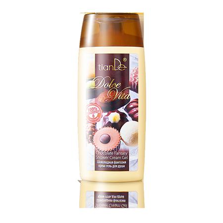 Cremă-gel de duș «Fantezie de ciocolată», 200 ml