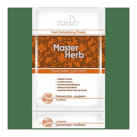 Plasturi pentru detoxificarea organismului Master Herb