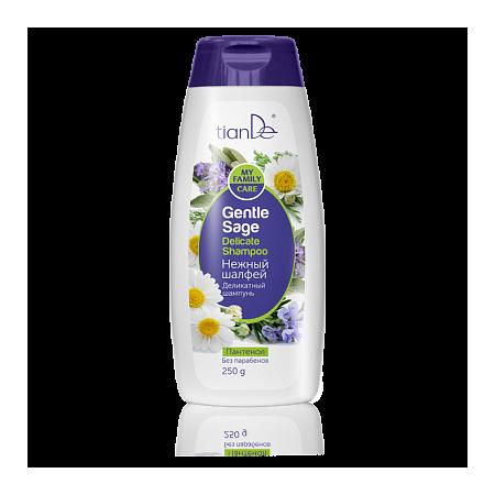 """Șampon delicat""""Salvie blândă"""", 250 g- PT.PAR GRAS"""