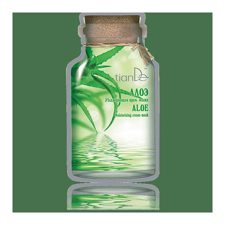 Cremă-mască hidratantă «Аloe», 35 g