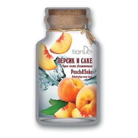 Cremă-mască hidratantă «Peach &Shake», 35 g