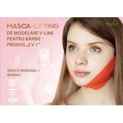 Masca lifting de modelare V-line pentru barbie